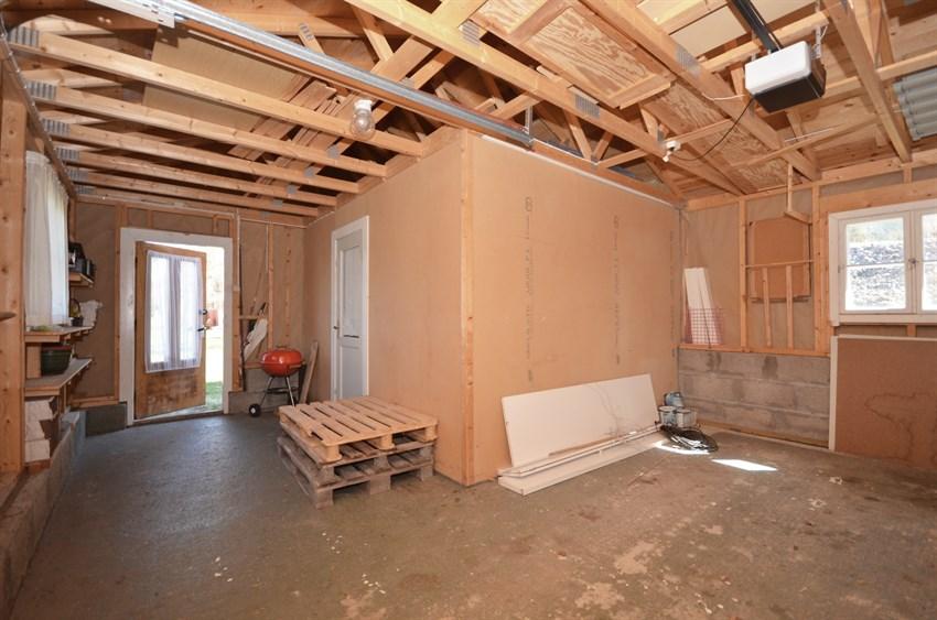 lite isolert rom i garasje