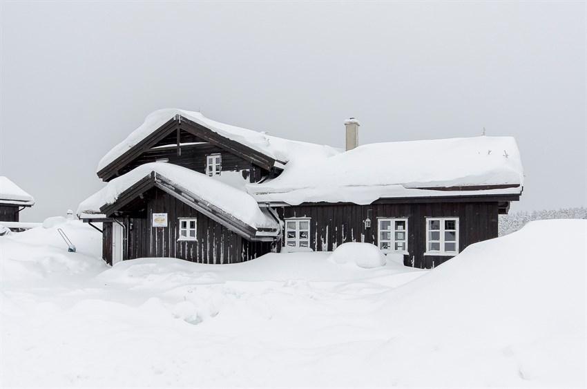 Branäsberget - Orren. Hyggelig fjellhytte med bla. 2 bad, 16 senger og utsikt til bakken. Ski in - ski out.