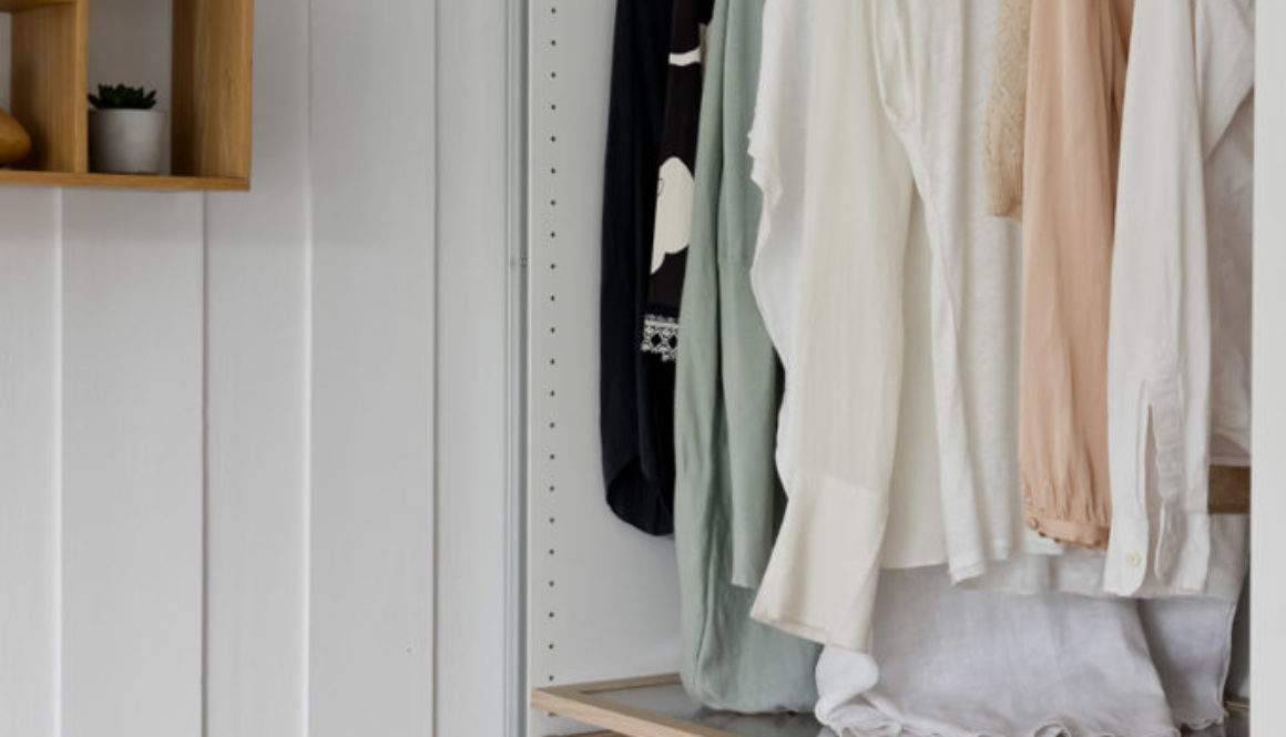 God garderobeplass på soverommet.